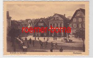 78294 Ak Gräfrath b. Solingen Marktplatz um 1930