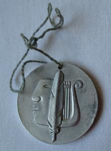 Seltene DDR Medaille 2.Fest Junger Künstler Karl Marx Stadt 1956 (114446)