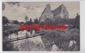 81700 Ak Langenleuba-Niederhain Vorm Schloss 1919