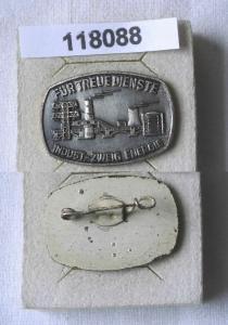 DDR Abzeichen für treue Dienste Industrie Zweig Energie in Silber (118088)
