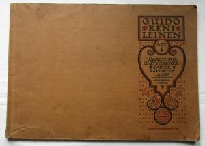 Alte Sammlung mit 196 Reklamemarken Vignetten meist Deutschland um 1920 (127100)