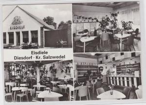 79279 Mehrbild Ak Eisdiele Diesdorf Kreis Salzwedel 1983