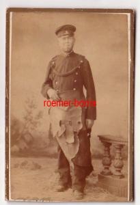 70832 Kabinettfoto Stollberg Bergmann oder Soldat um 1910