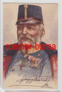 81927 Künstler Ak Erzherzog Friedrich von Österreich-Teschen um 1920