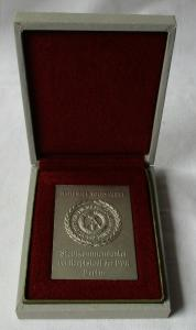 DDR Plakette NVA Stadtkommandantur der Hauptstadt der DDR im Etui (123585)