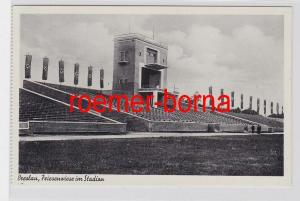 82238 Ak Breslau Friesenwiese im Stadion um 1940