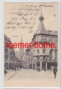 69225 Ak Strassburg Pergamentergasse 1908