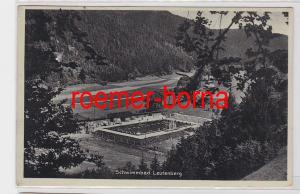 81692 Ak Schwimmbad Leutenberg um 1930