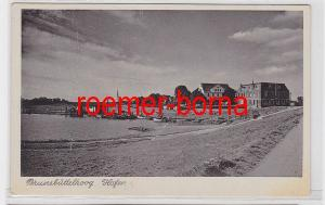 79418 Ak Brunsbüttelkoog Hafen um 1920