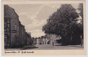 91044 Ak Grevesmühlen i.M. große Seestrasse 1944