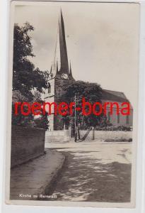 70977 Ak Kirche zu Barnstädt um 1930