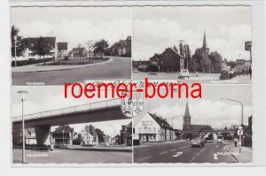 82228 Mehrbild Ak Krefeld Oppum Korekamp Maybachstr. usw. 1969