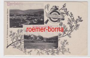83082 Mehrbild Ak Herborn Schützenhaus 1914
