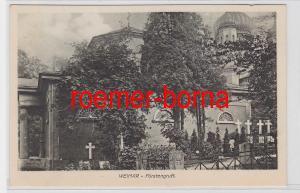 82282 Ak Weimar Fürstengruft 1912