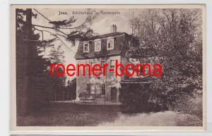 82259 Ak Jena Schillerhaus Gartenseite 1929