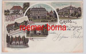 81786 Ak Lithografie Gruss aus Altdöbern u. Umgebung 1901