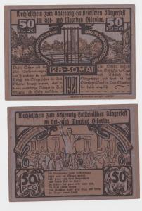 50 Pfennig Banknote Notgeld Bad Oldesloe Sängerfest 1921 (120476)