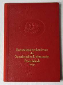 DDR Urkunde Vaterländischer Verdienstorden in Bronze 1968 SED Mappe (135159)