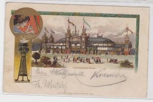 61734 Lithografie AK Graz - Sängerfesthalle, 6. deutsches Sängerbundfest 1902