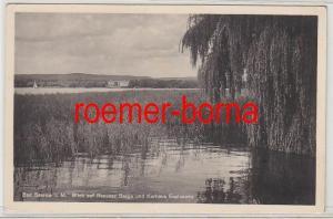 79820 Ak Bad Saarow i.M. Blick auf Rauener Berge und Kurhaus Esplanade 1940