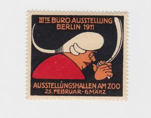 Vignette IIIte Büro Ausstellung Berlin 1911 Ausstellungshallen am ZOO (91048)