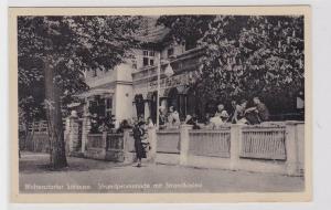 80130 Ak Woltersdorfer Schleuse, Strandpromenade mit Strandkasino 1957
