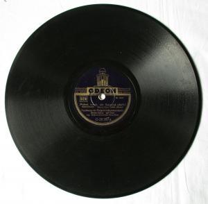 135004 Schellackplatte Odeon