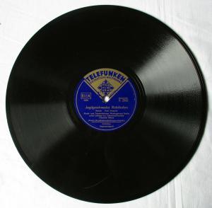 134983 Schellackplatte Telefunken