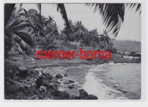 76236 Ak Tropische Küste von Kamerun ehemalige Deutsche Kolonie