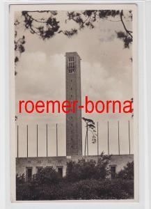 81696 Foto Ak Berlin Olympia-Stadion Glockenturm 1936