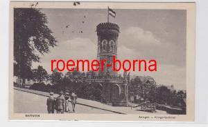 81493 Ak Barmen Anlagen - Kriegrdenkmal 1918
