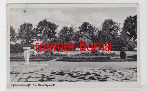 81813 Ak Schneidemühl Piła Im Stadtpark um 1940