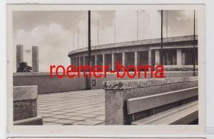 80793 Foto Ak Berlin Olympiastadion Blick v. Schwimmstadion auf das Osttor 1936