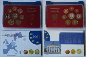 BRD KMS Kursmünzensatz Umlaufmünzenserie 2004 - A - Berlin PP (135328)
