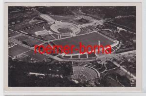 81482 Foto Ak Berlin Olympia-Stadion Gesamtansicht aus der Luft 1936