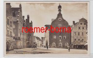 81101 Foto Ak Abensberg Stadtplatz um 1930