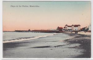 04028 Ak Montevideo Playa de los Pocitos 1915