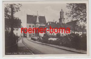 82787 Foto Ak Volkach am Main Partie am Graben 1932