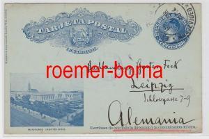 82164 Ganzsachen Postkarte Republik Uruguay Montevideo 1914