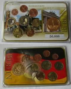 Deutschland BRD KMS Euro Premiumsatz mit Sondermünze Euro Motivsatz (134979)