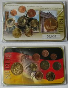 Deutschland BRD KMS Euro Premiumsatz mit Sondermünze Euro Motivsatz (134823)