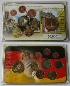 Deutschland BRD KMS Euro Premiumsatz mit Sondermünze Euro Motivsatz (135122)