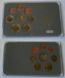 Luxemburg KMS Gedenkmünzensatz 1 Cent bis 1 Euro + 2 Euro Gedenkmünze (135152)
