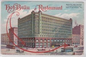 91304 AK Hof-Bräu Restaurant - Pacific Building San Francisco 1929