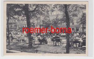 81955 Ak Berlin Unter den Linden mit Café Bauer 1912