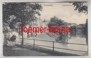 81554 Ak Düsseldorf Hofgartenstrasse 1911