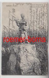 83012 Ak Essen Ruhr Kolonie Altenhof Arbeiter-Denkmal 1937