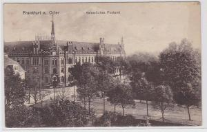 82809 AK Frankfurt an der Oder - Kaiserliches Postamt 1917