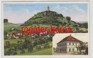 81659 Mehrbild Ak Seitenroda mit der Leuchtenburg und Gasthof Seitenroda um 1930