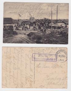 84422 Feldpost Ak Etappen-Kraftwagen-Park 7 Erster Weltkrieg Frankreich 1915
